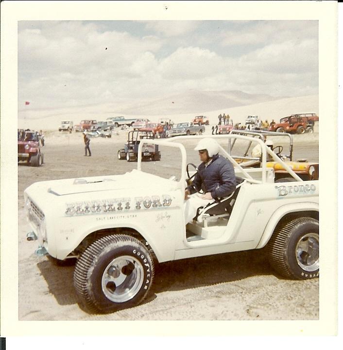 Vintage Sand Drag Ford Bronco Being Restored!