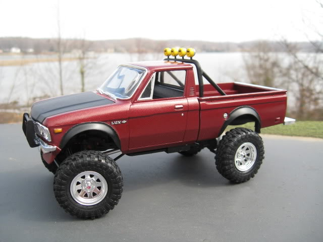Awesome Chevrolet Luv 44 Model