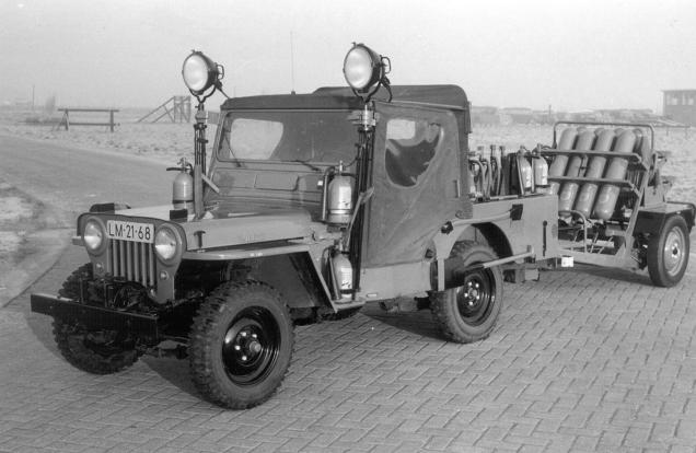 netherlands firejeep2 Netherlands Willys Jeep Fire Trucks
