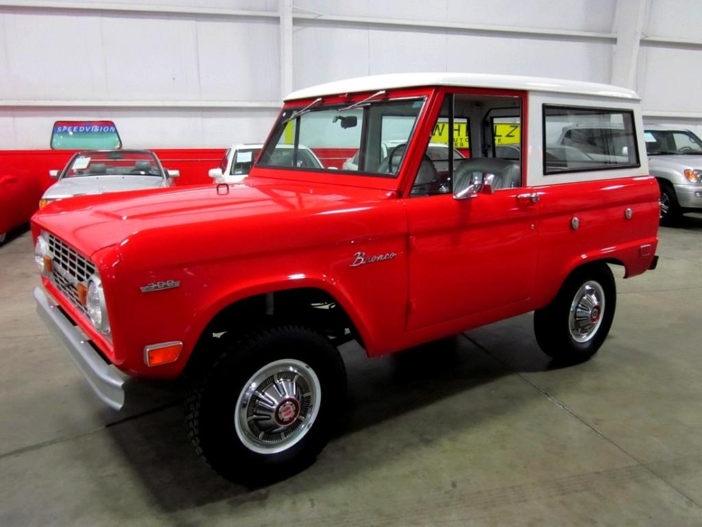 Restored 1969 Ford Bronco For Sale