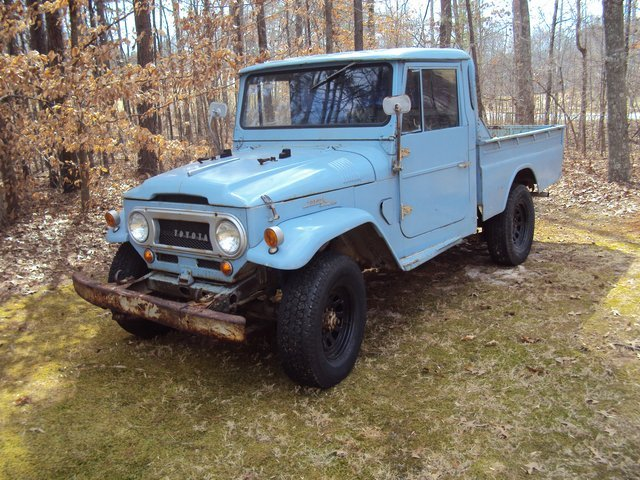 1969 toyota fj45 pickup for sale. Black Bedroom Furniture Sets. Home Design Ideas