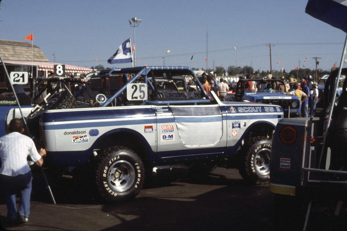 international scout off road race truck photos from the 70 s