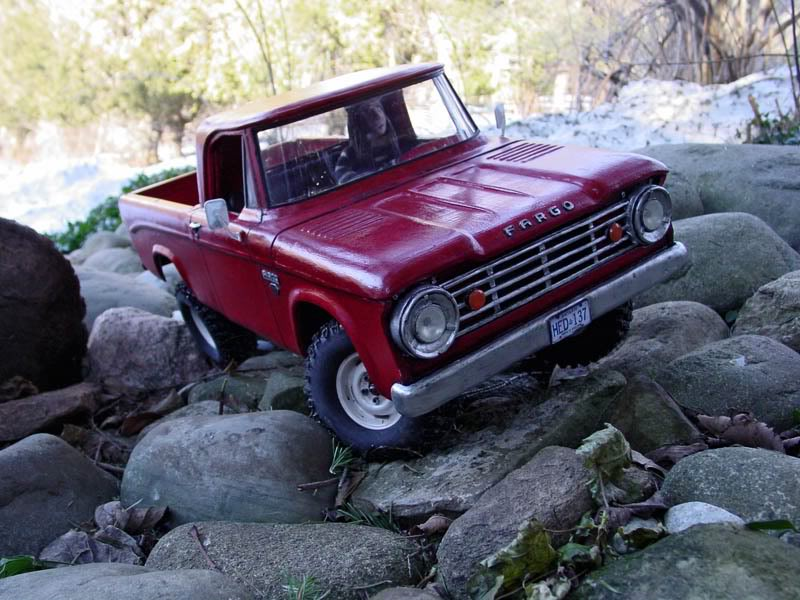 Rc 4runner Body >> 1/9th Scale 1967 Dodge Fargo Sweptline Power Wagon