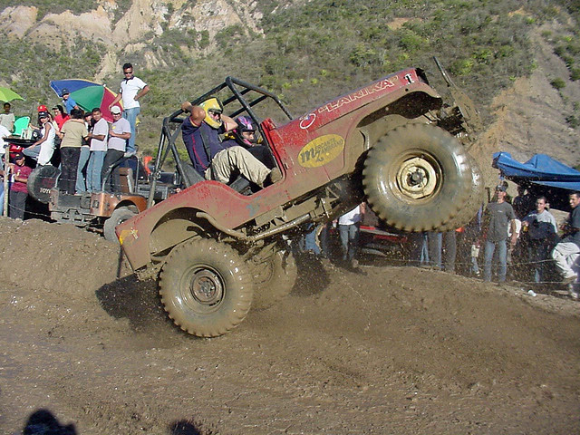 race jeep, mud jeep,