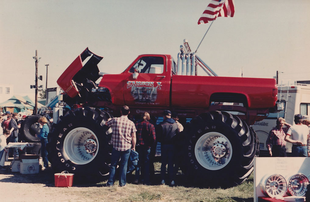 even more vintage monster truck photos