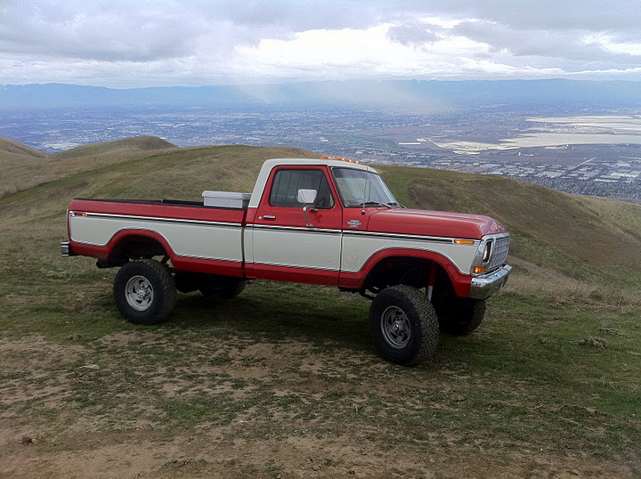 of his 1979 ford f350 on the show us your truck thread on ford truck