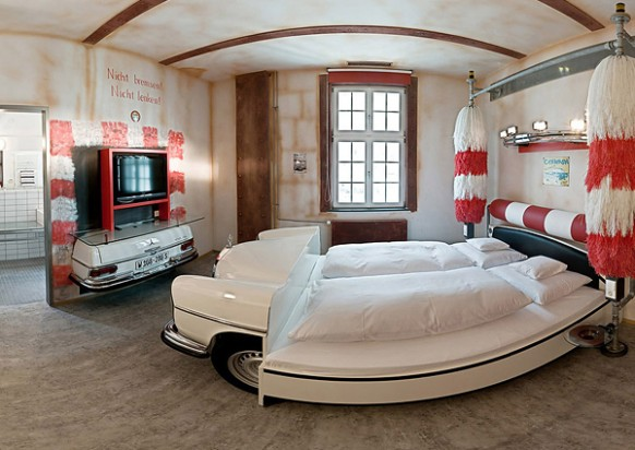 Google Image Result For  Http://offroadaction.ca/wp Content/uploads/2011/12/V8 Car Themed Hotel Germany 582x412  | For My Guys | Pinterest | V8 Cars, ...