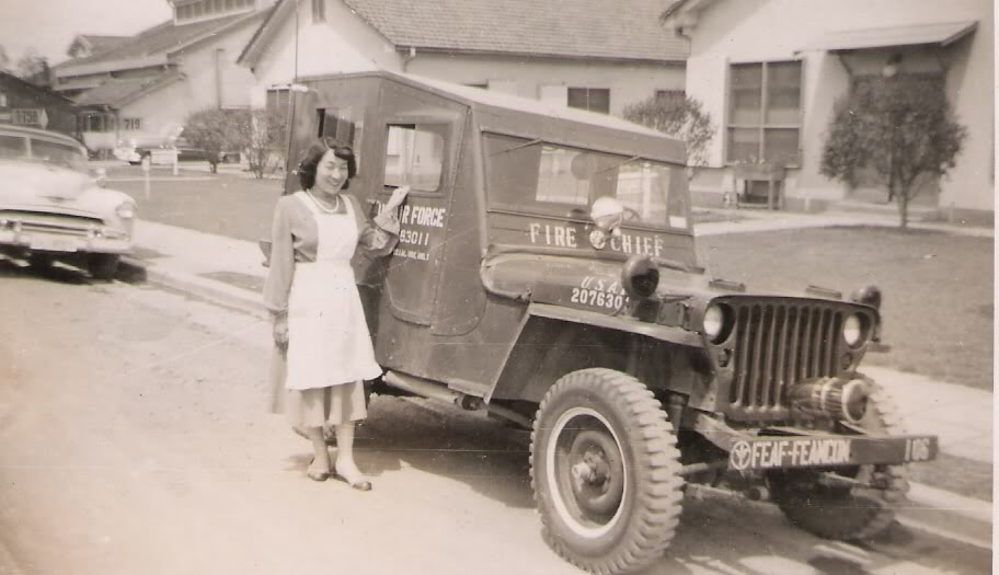 Photos Of Us Air Force Fire Chief Willys Jeep In Japan