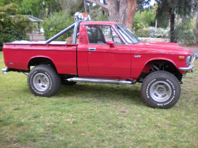 chevrolet luv, luv 4x4, luv truck