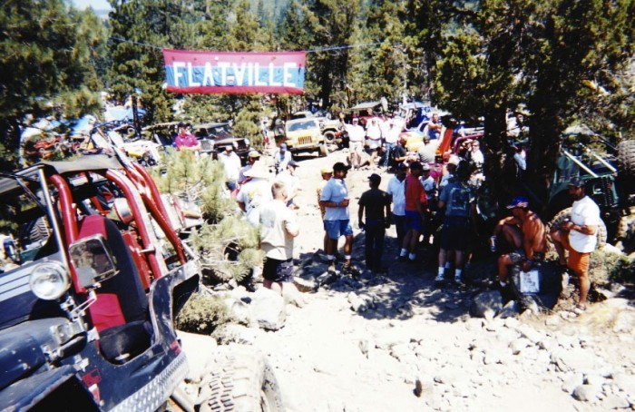 2012 Jeepers Jamboree - vintage picture of Flatville
