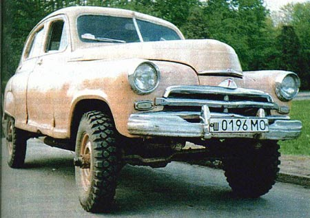 GAZ-M-72 was built from 1955 - 1958