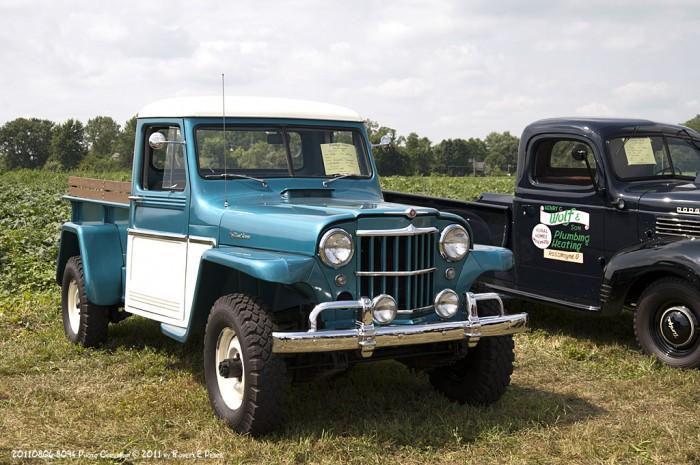 1961 Willys 4 Wheel Drive pickup