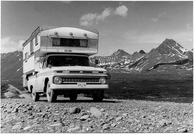 chevrolet alaska, camper alaska, chevy alaska, alaska highway, vintage alaska