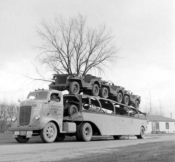 Old Postal Jeeps For Sale: Army Jeep & Power Wagon Haulers