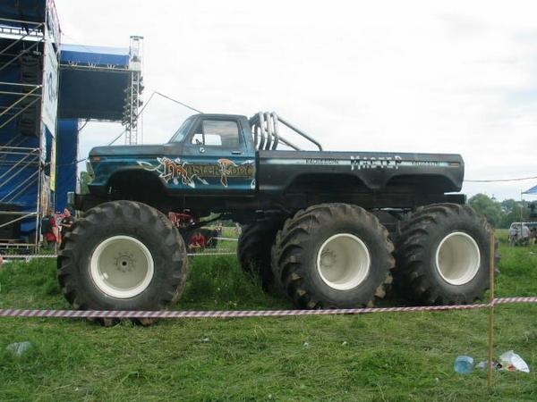 6x6, 6x6 monster truck, ford monster truck,