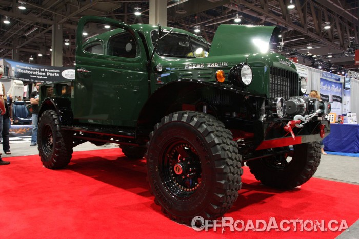 1949 Dodge Powerwagon, 2012 SEMA Show