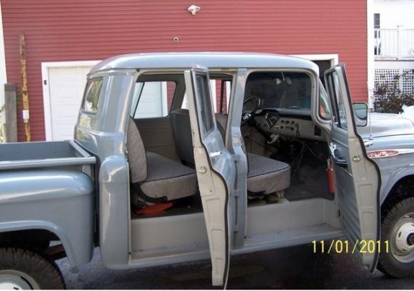 1957 Chevrolet Napco 4 4 Crew Cab