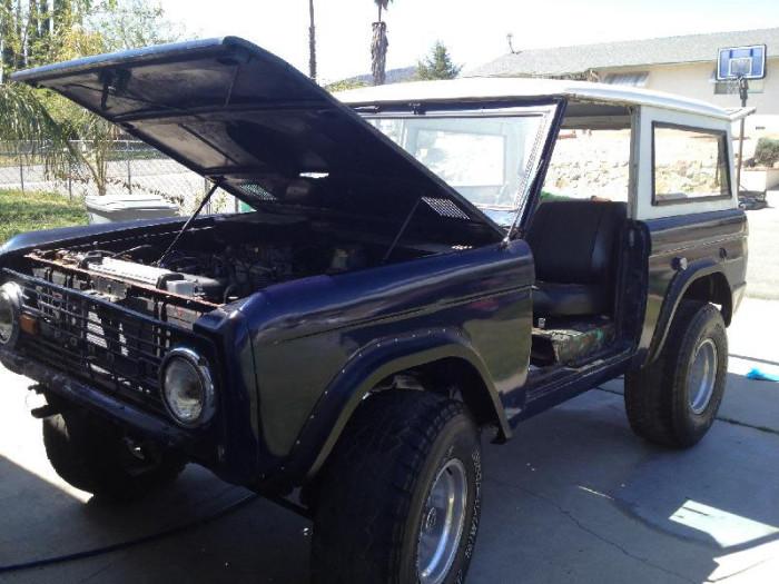 1967 Ford Bronco For Trade on Race-dezert.com