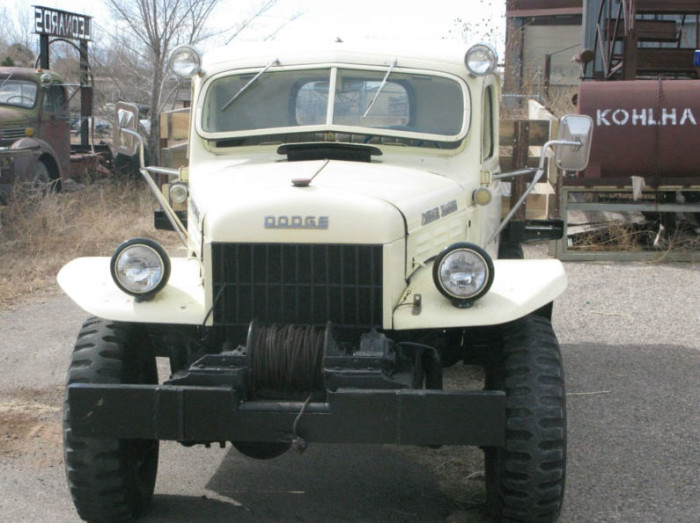 1946 dodge power wagon for sale for Motorized wagon for sale