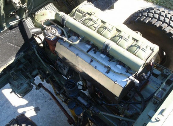 1986_TAM_110_Bosnian_Border_Patrol_Truck_Engine