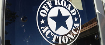 Thumbnail image for Off Road Action Die Cut Stickers!