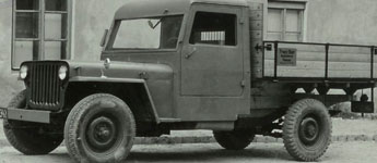 Thumbnail image for Restored Willys Truck in Germany