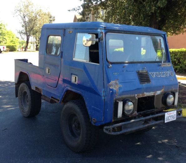 4X4 Vans For Sale >> 1970 Volvo C202 Valp Crew Cab 4X4