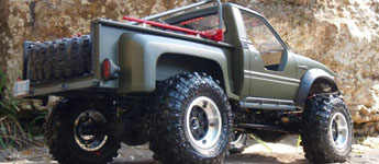 Thumbnail image for Toyota Hilux with SCX10 chassis