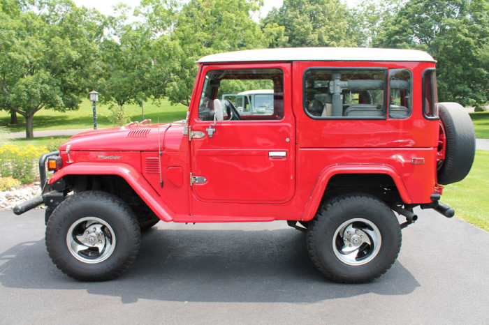 1979 Toyota FJ40 Land Cruiser For Sale