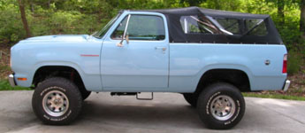 Thumbnail image for 1978 Dodge Ramcharger 4×4