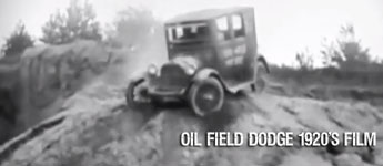 Thumbnail image for 1920s Oil Field Dodge Promotional Film