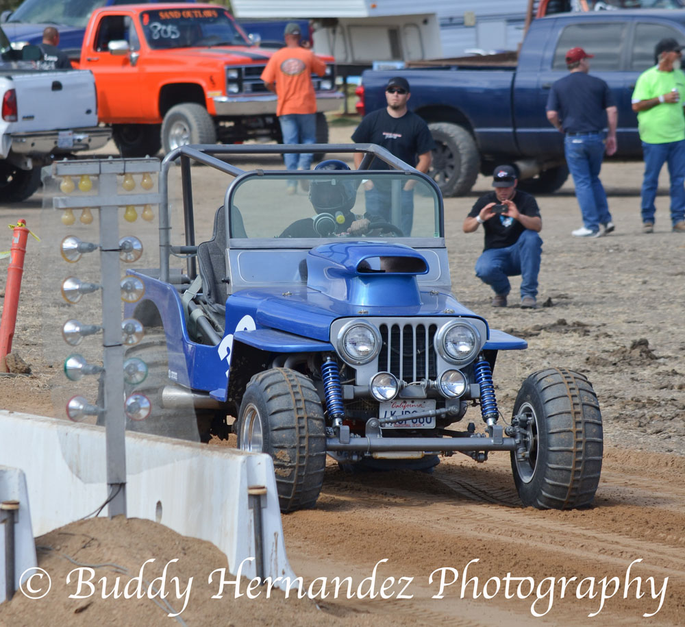 Sand Drags At The Speedway