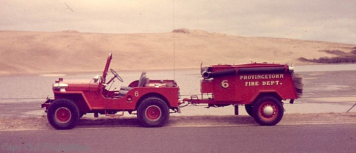 provincetown fire willys jeep