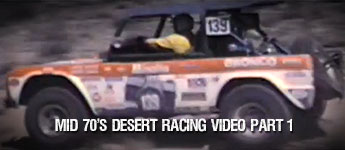 Thumbnail image for Mid 70's Vintage Desert Racing Video Part 1