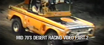 Thumbnail image for Mid 70′s Vintage Desert Racing Video Part 2