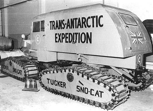 sno-cat trans antarctic expedition