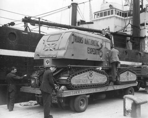 trans antarctic expedition sno-cat