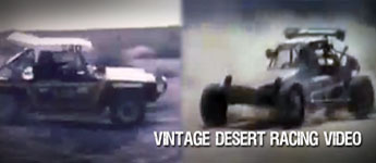 Thumbnail image for Vintage Desert Racing Video