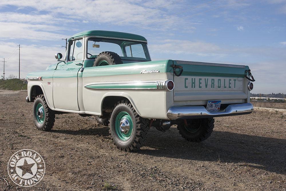 Gary Hough's 1959 Chevy NAPCO Apache 3100