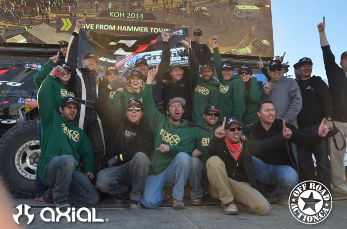 The 2014 King of the Hammers!