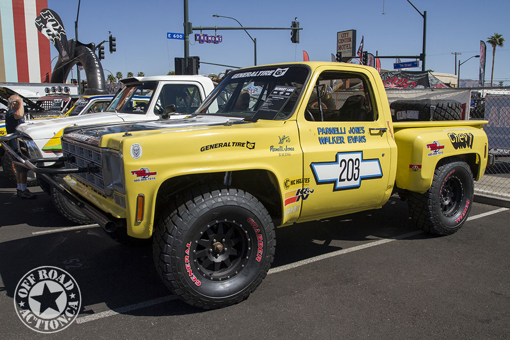 2014 Mint 400 Norra Vintage Race Vehicle Display
