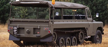 Thumbnail image for Tank Track Land Rovers