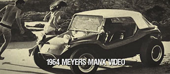 "Thumbnail image for 1964 Meyers Manx ""Old Red"" Dune Buggy Video"