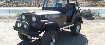 Thumbnail image for 1977 LEVI Jeep CJ5 For Sale