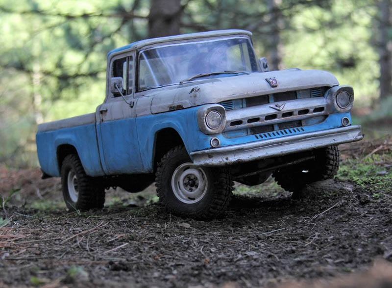 ... the features on his Willys Rural , 1966 Bronco , and Toyopet Stout