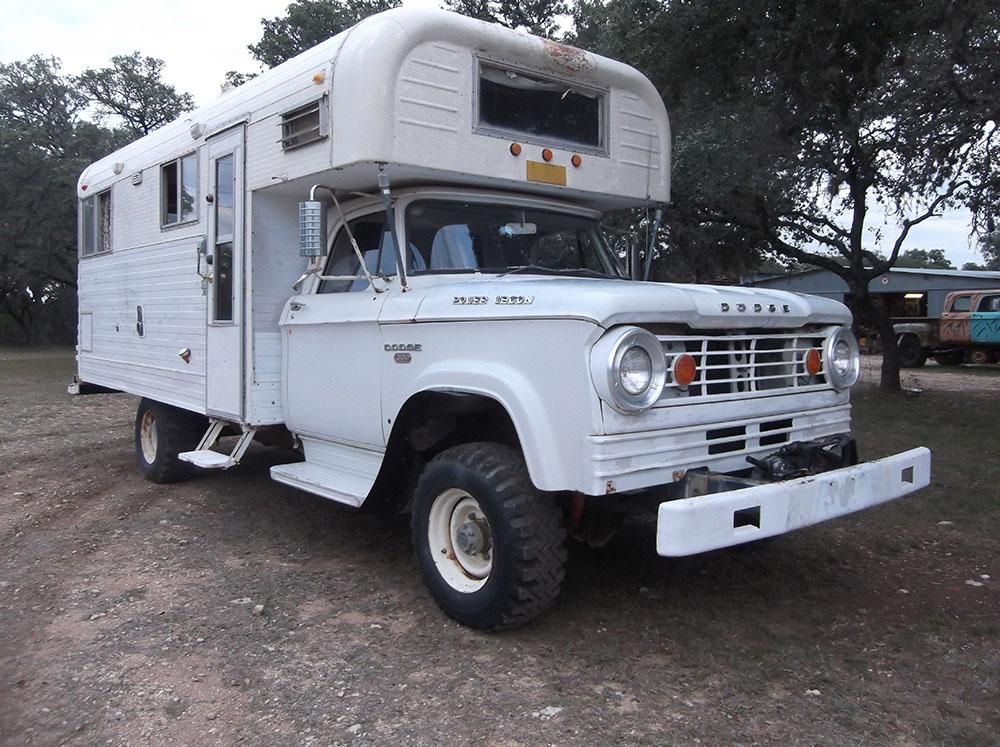 1966 Dodge Power Wagon W300 Chinook RV