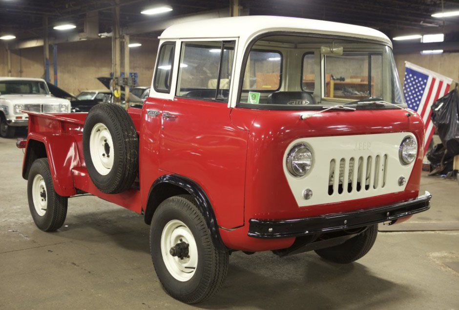 1963 Willys Jeep Fc 170