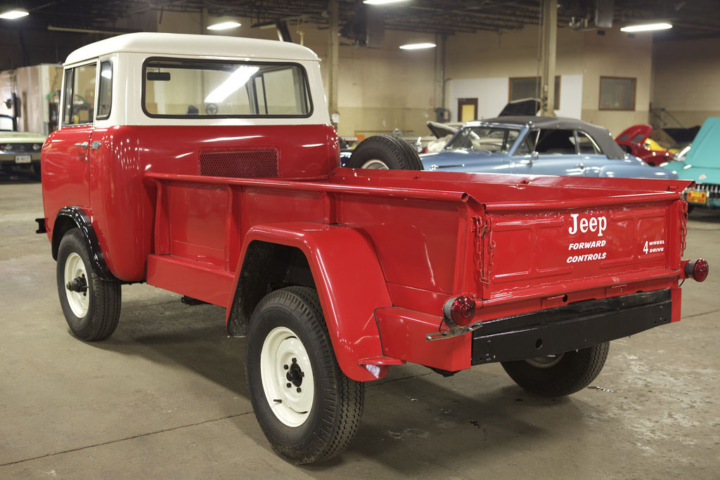 This beautiful 1963 Willys Jeep FC-170 was up for auction at Bring-A ...