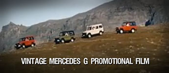 Thumbnail image for Vintage Mercedes G Promotional Film