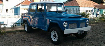 Thumbnail image for 1983 Brazilian Ford Willys F-75 4×4 Pickup